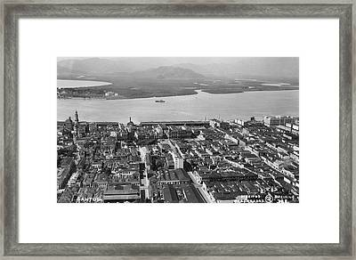 View Over Santos Framed Print by Hulton Archive