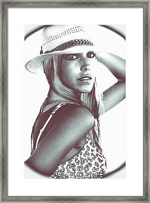 Vignette Amore My Love Framed Print