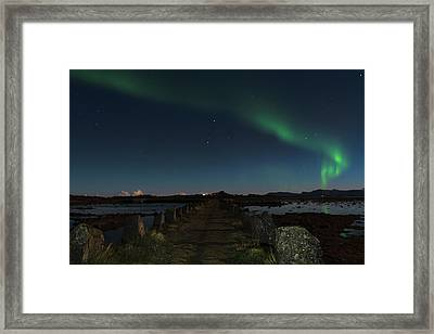 Viking Path Framed Print