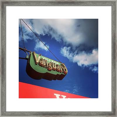 Village Vanguard Framed Print