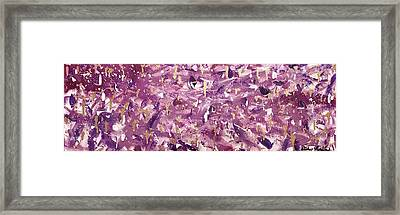 Violaceous Framed Print