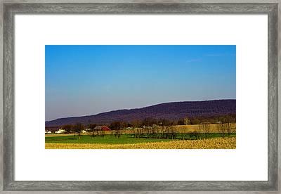 Virginia Mountain Landscape Framed Print