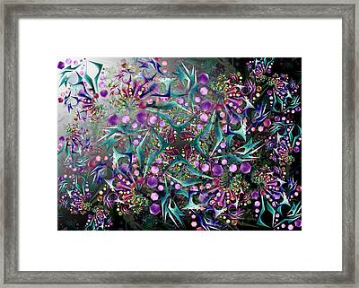 Vision Complex Remix One Framed Print