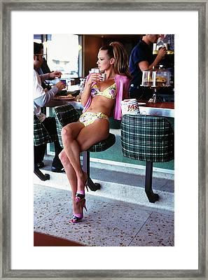 Vogue 1995 Framed Print