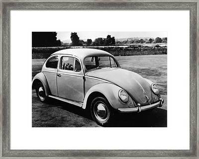 Volkswagen Framed Print by Thurston Hopkins