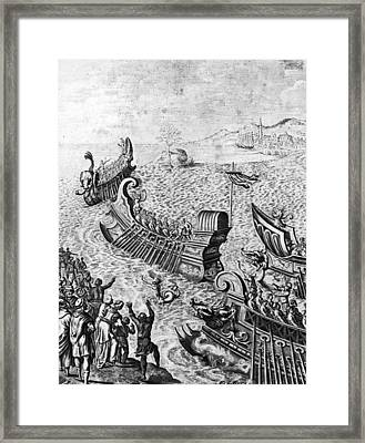 Voyage Of The Argo Framed Print by Hulton Archive