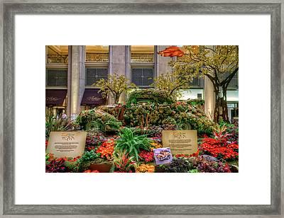 Vw Bug Planter Framed Print