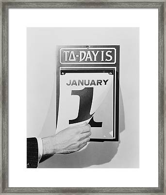 Wall Calendar Framed Print by H. Armstrong Roberts