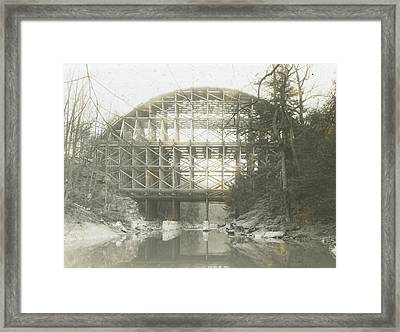 Walnut Lane Bridge Framed Print
