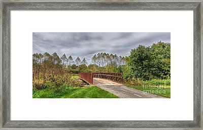 Walnut Woods Bridge - 3 Framed Print