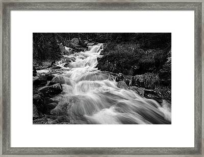 Framed Print featuring the photograph Warme Bode, Harz by Andreas Levi