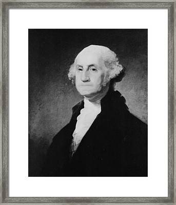 Washington Close-up Framed Print by Three Lions