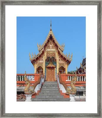 Wat Nong Tong Phra Wihan Dthcm2639 Framed Print