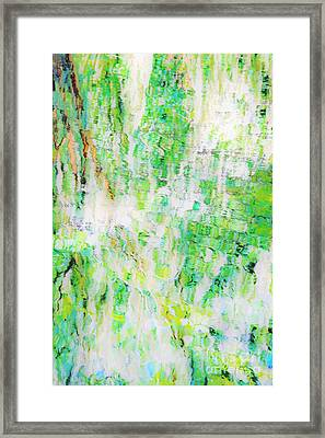 Water Colored  Framed Print