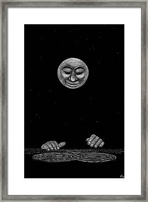 Water Music Framed Print by Ricardo Levins Morales