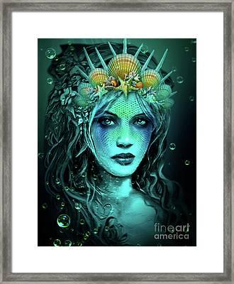 Water Queen Framed Print