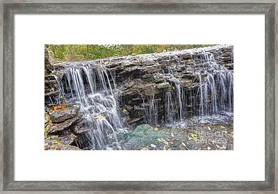 Waterfall @ Sharon Woods Framed Print