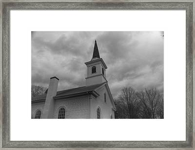 Waterloo United Methodist Church - Detail Framed Print