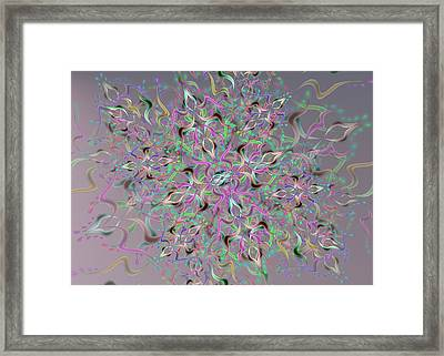 Wave Complex Framed Print