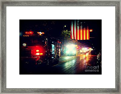 We Remember 9/11 Framed Print