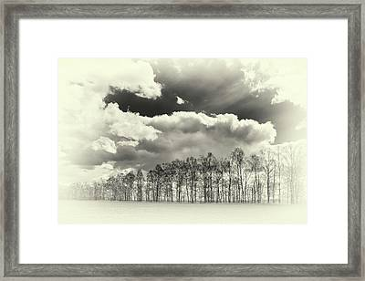 Framed Print featuring the photograph Weather Symphony. Rohizky, 2015. by Andriy Maykovskyi