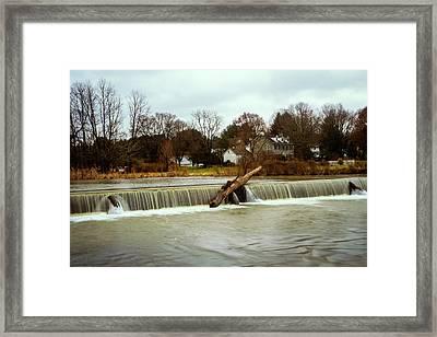 Wehr's Dam - Kodak Color Profile Framed Print