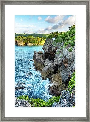 Welcome To Portland Jamaica Framed Print