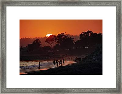 Framed Print featuring the photograph We'll All Be Gone For The Summer by Quality HDR Photography