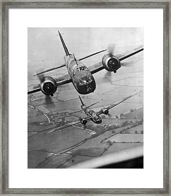 Wellington Bombers Framed Print by Topical Press Agency