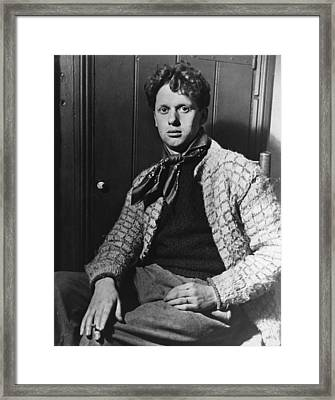 Welsh Bard Framed Print by Hulton Archive