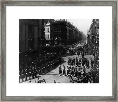 West India Procession Framed Print by London Stereoscopic Company