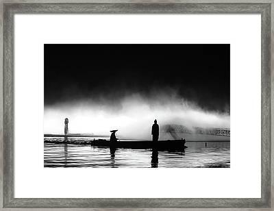 West Lake Framed Print