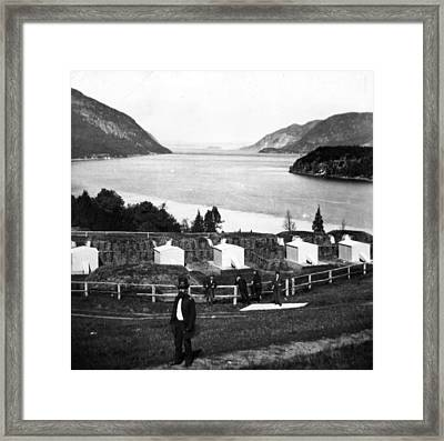 West Point Framed Print by William England