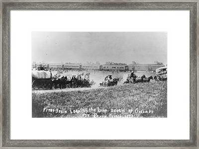 Westward Expansion Framed Print by Authenticated News