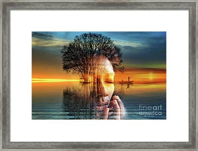 When I Was - Yours Framed Print