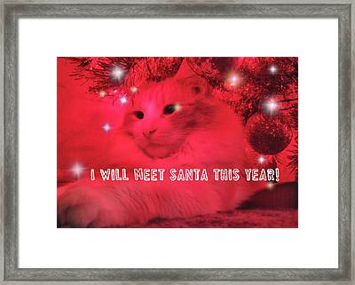Where's Santa? Framed Print by JAMART Photography