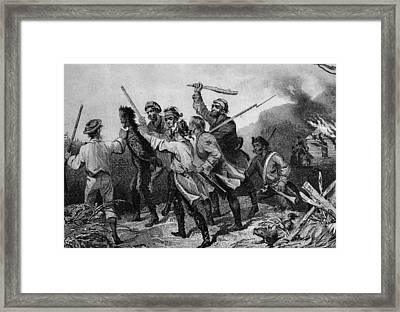 Whiskey Rebellion Framed Print by Kean Collection