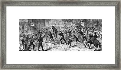 Whiskey Rebellion Framed Print by Three Lions