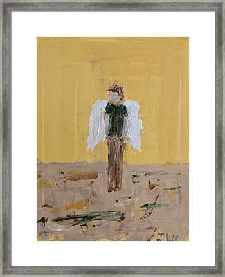 Whistling Angel Framed Print