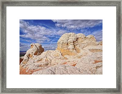 Framed Print featuring the photograph White Pocket Scenic by Theo O'Connor