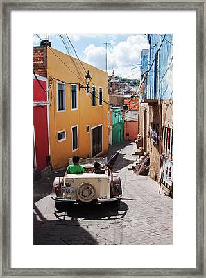 Who Said Mexicans Were Poor Framed Print