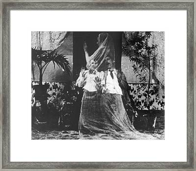 Who You Gonna Call Framed Print by Hulton Archive