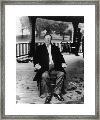 William Howard Taft Framed Print by Hulton Archive
