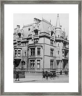 William K. Vanderbilt House Framed Print by Archive Photos