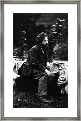 William Morris Framed Print by Frederick Hollyer