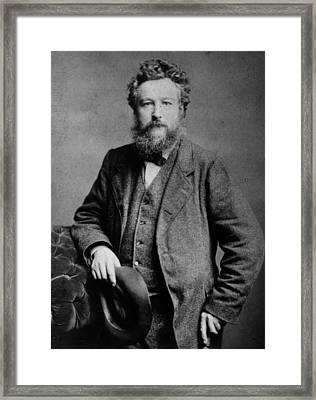 William Morris Framed Print by London Stereoscopic Company