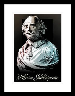 Shakespeare Framed Prints