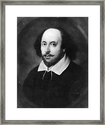 William Shakespeare Framed Print by Hulton Archive
