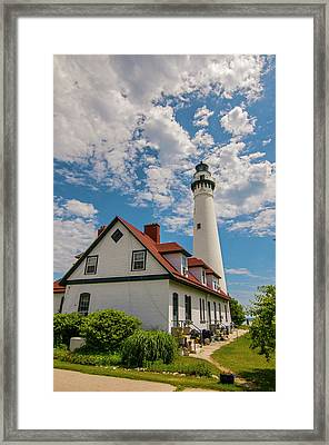 Wind Point Lighthouse No. 2 Framed Print