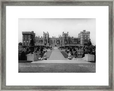 Windsor Castle Framed Print by London Stereoscopic Company